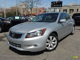 honda accord exl 2009 2009 honda accord ex l v6 sedan in alabaster silver metallic
