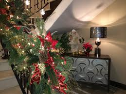 Christmas Railing Decorations Christmas Staircase Decorations Ideas Year Dma Homes 80140