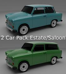 trabant trabant 3d models download 3d trabant files cgtrader com
