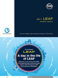 nissan leaf owner s manual download nissan leaf sae 2 11 docshare tips