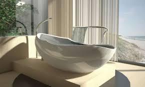 egg shaped bathtubs this luca veneri tub will envelop you like a