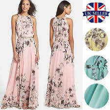 maxi dresses uk halter neck boho women s maxi dresses ebay