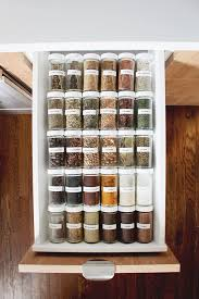 Best  Spice Drawer Ideas On Pinterest Spice Rack Organization - Kitchen cabinets drawer
