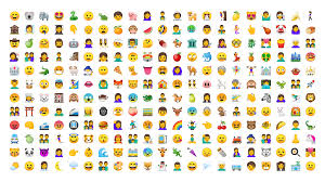 new android emojis redesigning android emoji design medium
