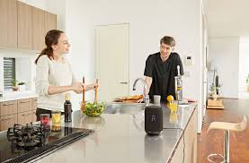 visit sony s kitchen for sony voice controlled speaker with assistant letsgodigital