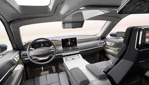 luxury minivan interior nyias lincoln navigator concept u2013 quiet luxury with 30 speakers