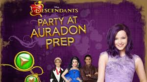 party city halloween descendants disney u0027s descendants party at auradon prep gameplay