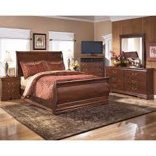 queen sleigh bed 3 pc bedroom package