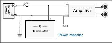 power cap wiring diagram diagram wiring diagrams for diy car repairs