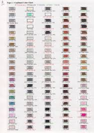 combined color chart rose art crazart crayola by josephine9606