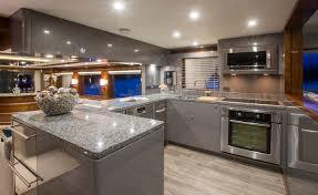 Boat Galley Kitchen Designs Outer Reef 86 U0027 Galley Custom Yacht Interior Design Destry Darr