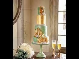 art deco wedding cake ideas youtube