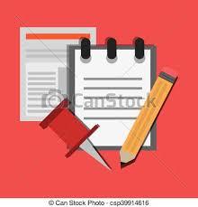 articles bureau documents articles bureau apparenté papier icône plat
