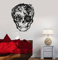 popular decorative tribal stickers buy cheap decorative tribal skull horror tribal decor wall stickers decor boys teen room wall decals perfect quality e