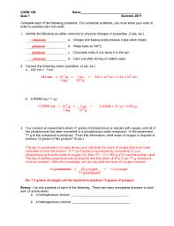 stoichiometry practice problems key 1 the claus reactions shown