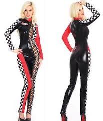 Catsuit Halloween Costumes Ladies Racing Halloween Costume Car Driver Nascar Racer