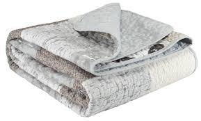 Jysk Duvets Quilted Blanket Lund 140x200 Beige Jysk