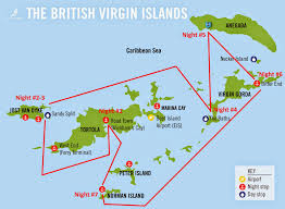 Map Of Virgin Islands Travel Addict The Yacht Week British Virgin Islands Part One