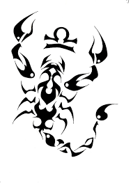 zodiac symbol and tribal scorpion tattoo design in 2017 real