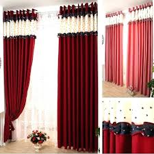 black and red curtains for bedroom red black and white bedroom black and red curtains for living room red and black curtains