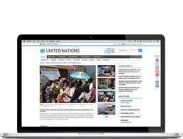 homepage designer united nations website new york designer web developer