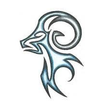 masculine tribal aries ram design tattoowoo com