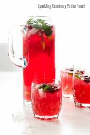 sparkling cranberry vodka punch boulder locavore
