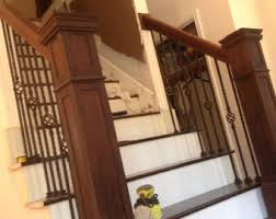 Banister And Handrail Railing Etsy