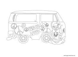 lovely hippie coloring pages 53 coloring pages adults