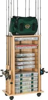 Fishing Rod Storage Cabinet Organize Fishing Tackle I This Buss Pinterest