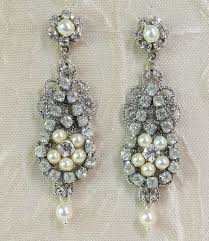 rhinestone earrings chandelier earrings lia efrat davidsohn אפרת דוידסון