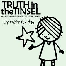 truth in the tinsel review of an advent study for children the