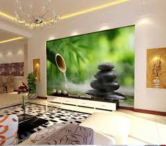 3d tv mural background yoga spa salon bamboo stone hall wallpaper 3d tv mural background yoga spa salon bamboo stone hall wallpaper wall rolls l what s it worth