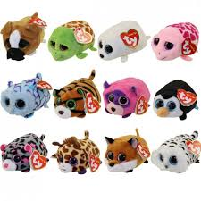 ty beanie boos teeny tys stackable plush 12 4