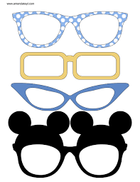 mickey mouse photo booth props instant baby mickey printable photo booth prop set