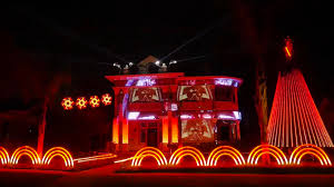 christmas light show packages insane star wars christmas light show features dubstep edm imperial