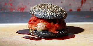 lurching zombie spirit halloween this walking dead inspired burger will get you in the halloween spirit