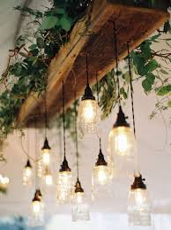 How To Install A Hanging Light Fixture Glam Wedding In Lavender And Green Light Installation