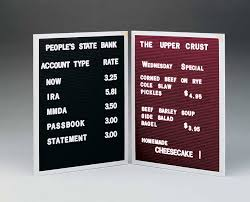 letter board sign letter of recommendation