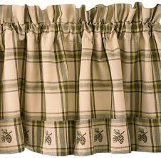 pine cone cabin window valance lodge curtain pinecone u2013 scarbrough