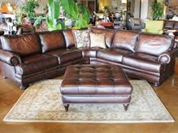 Bernhardt Leather Sofa by Town And Country Leather Furniture Store