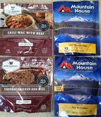 wise vs mountain house food pouch review prepper resources com