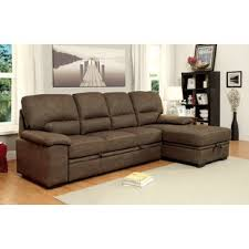 Leather And Suede Sectional Sofa Ultra Suede Sectional Sofa Wayfair