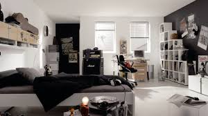 Black And White Bedroom Decor by Boys Bedroom Good Looking Black And White Teenage Guy Bedroom