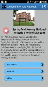 Walking Map App Springfield Central Cultural District Springfield Central Cultural