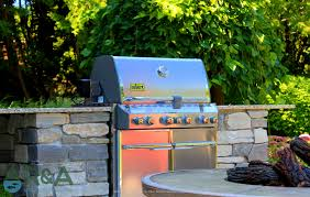 east grand rapids custom grill island for outdoor grill with fire