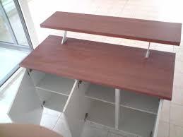 meuble de cuisine bar pretty hauteur meuble bas cuisine images gallery meuble bas de