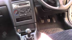 astra g mk4 remove centre console how to youtube