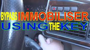 lexus keys breaking immobiliser not working car won u0027t start key fob faulty bypass
