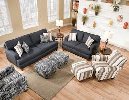 St Louis Modern Furniture by Omega Denim Collection With Casual Flair Contemporary Living